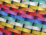 colored strips poster