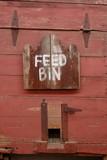 Texas feed bin poster