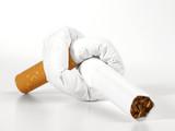 Verknotete Zigarette