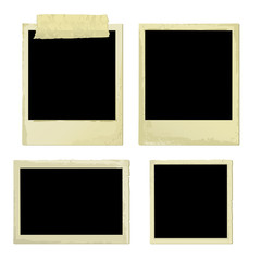 Old Photo Frames (vector or XXL jpeg image)