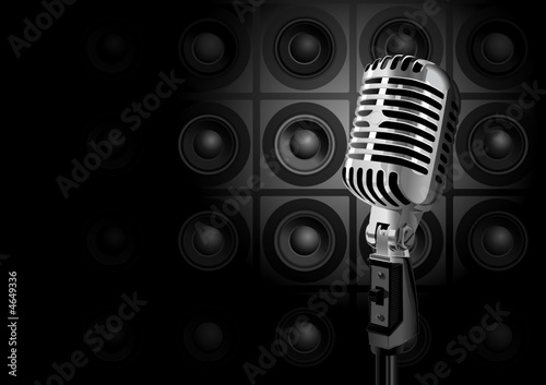 Music Event (editable vector or XXL jpeg image)