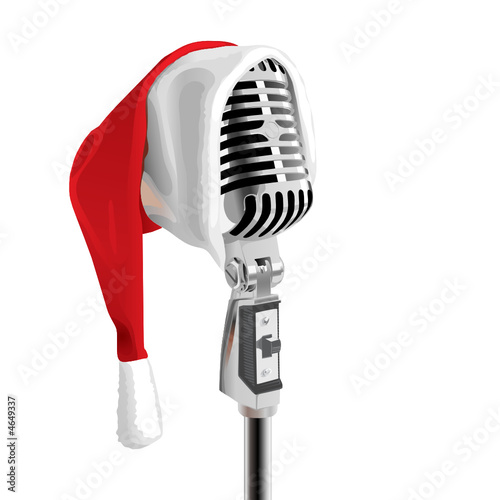 Christmas Song (editable vector or XXL jpeg image)