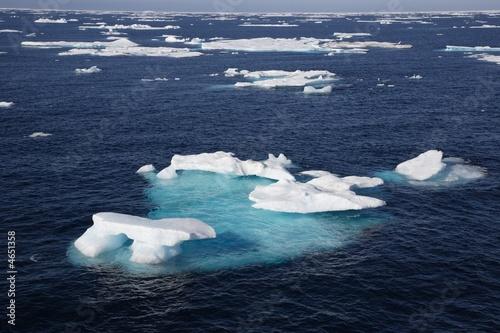 Papiers peints Pôle Eisfeld in der Arktis