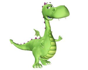 Dragon Cartoon - Happy