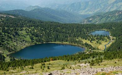 Karacol lakes, Altai, Russia