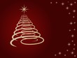 weihnachtsbaum gold-rot