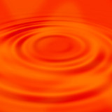 red liquid ripples poster