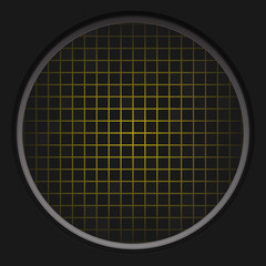 Yellow Radar Grid