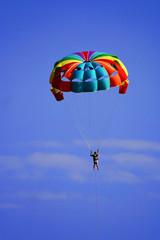 rainbow paragliding