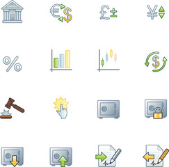 project finance icons