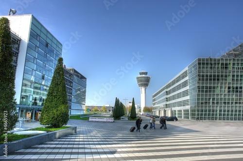 Leinwandbild Motiv Airport Munich