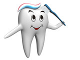 Fototapety Selfbrushing tooth