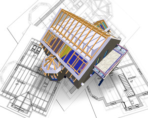 house and plan