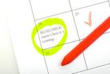 Calendar memo poster