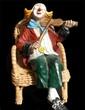 Quadro Pierrot's violin