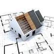 maison charpente et plan E2