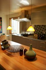 Fancy kitchen in modern house