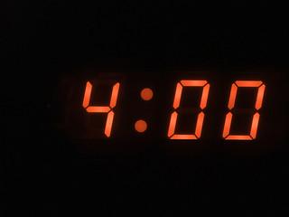 four o clock