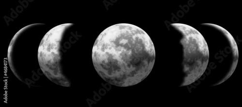 Fototapeta Phases of the moon