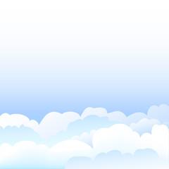 Ciel nuageux - illustration