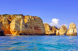 Portugal, Algarve, Lagos: Wonderful coastline poster