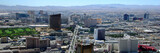 panoramic view of las vegas