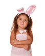 Funny Child Bunny