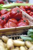 boutique de légumes poster