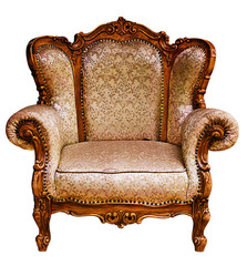 Old elbow-chair