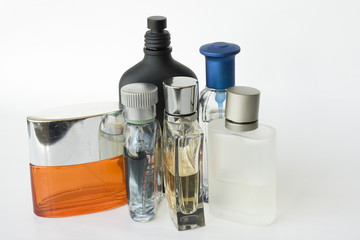 Fragrances bottles