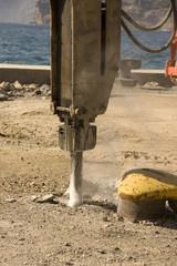 industrial drill digger