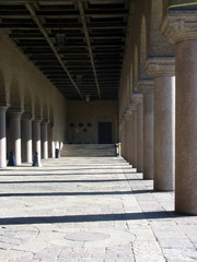 Pillars in a castle 3