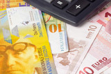 Euro and Swiss currency pair commonly used in forex trading