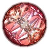 closeup of pink precious stone poster