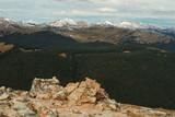 mountain rocks, Mummy Range, Colorado poster