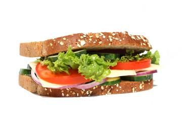 Healhty Vegetarian Sandwich