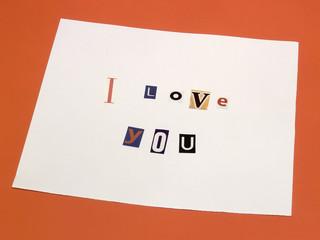 I love you - 1