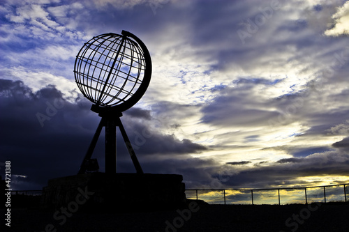 Leinwanddruck Bild North Cape