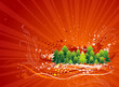 christmas39christmas card, vector