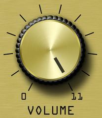 Gold Volume Control Eleven