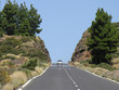 Strasse durch den Teide Nationalpark/Teneriffa