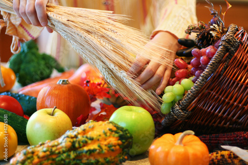 Decorating cornucopia