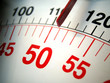 Leinwandbild Motiv scale on weight