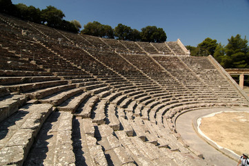 Grecia teatro Epidauro