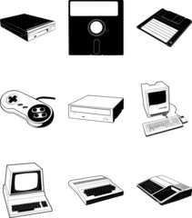 Retro Computer Equipment