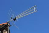 TV antenna poster