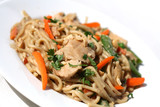 Chinese Food - Pasta Noodles with Chicken