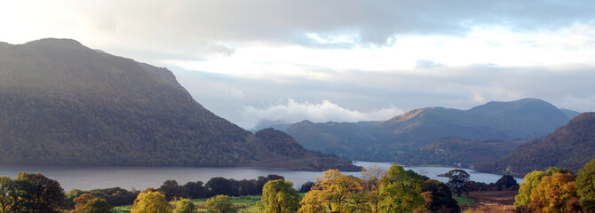 View of the Lake District