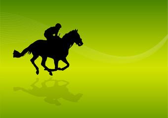 Background Derby Horse