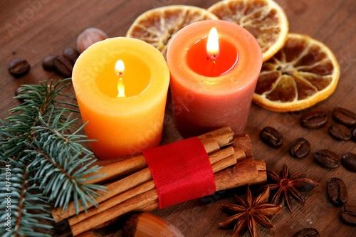 Leinwandbild Motiv Weihnachtszeit